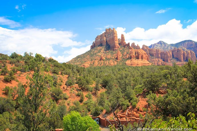 Sedona, the red rock state.
