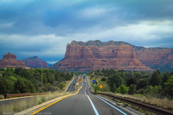 Sedona Photo From Phoenix to Grand Canyon: Tips for Backpackers