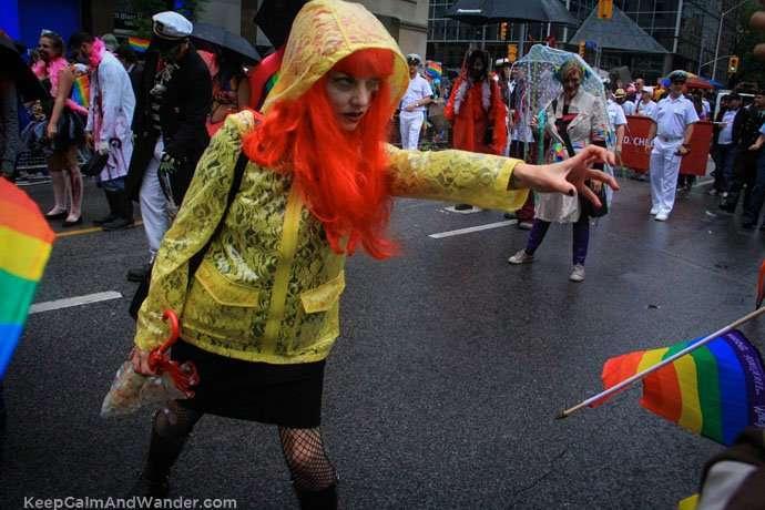 Zombie Apocalypse Toronto Pride Parade 2015.