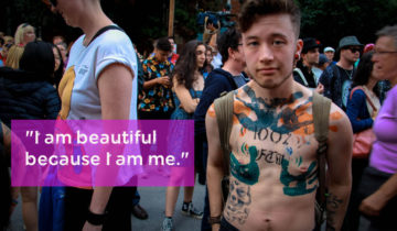 2015 Humans of Toronto Trans March