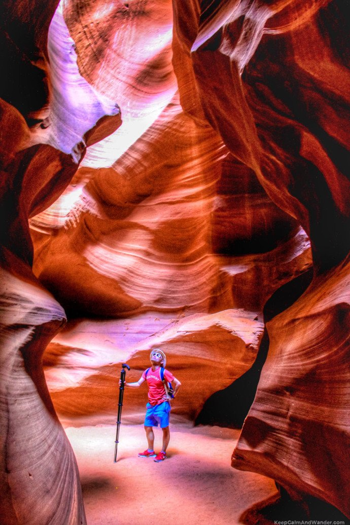 Antelope Slot Canyon will absolutely take your breath away.