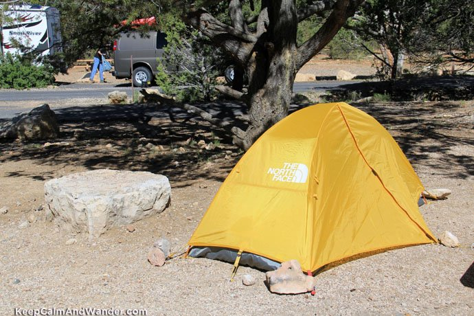 Camping at the Grand Canyon