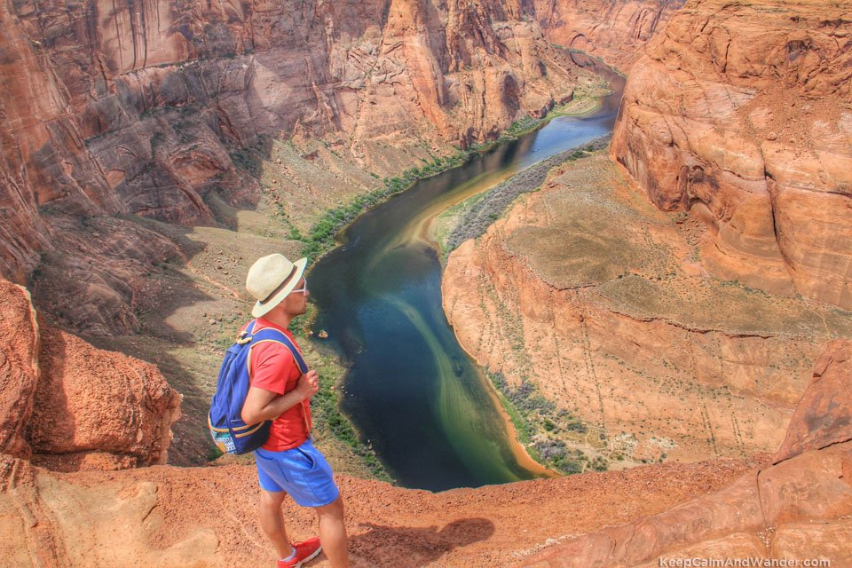 Horseshoe Bend in Page, Arizona is breathtaking!