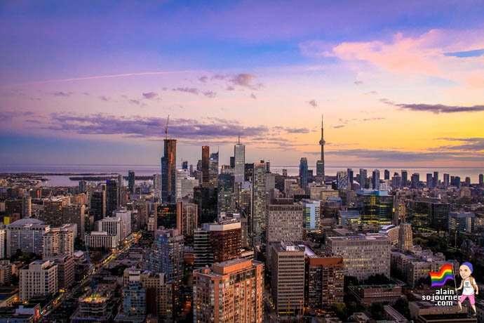 Panorama Lounge Toronto Skyline 10