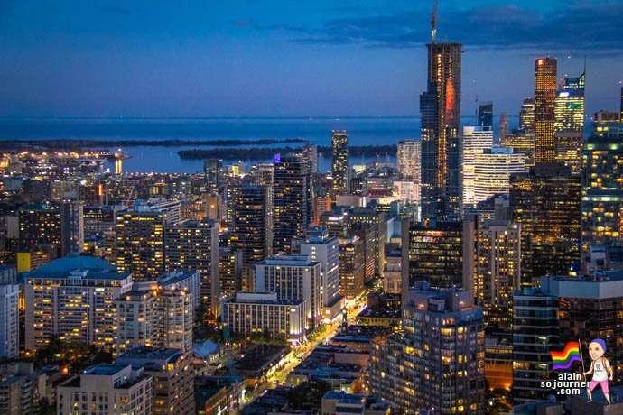 Panorama Lounge Skyline Toronto