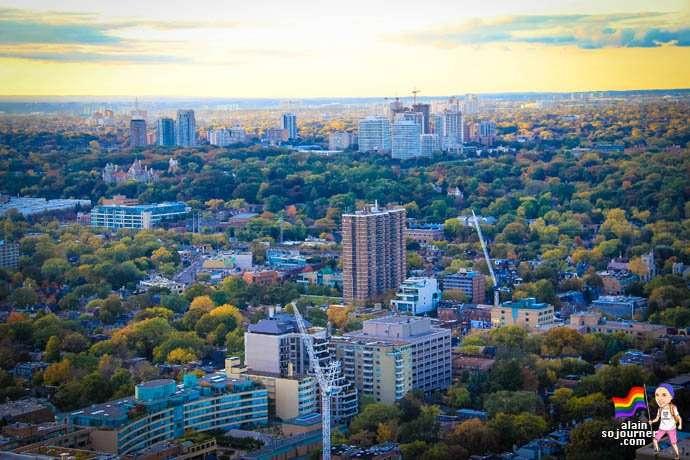 Skyline Toronto Panorama Lounge