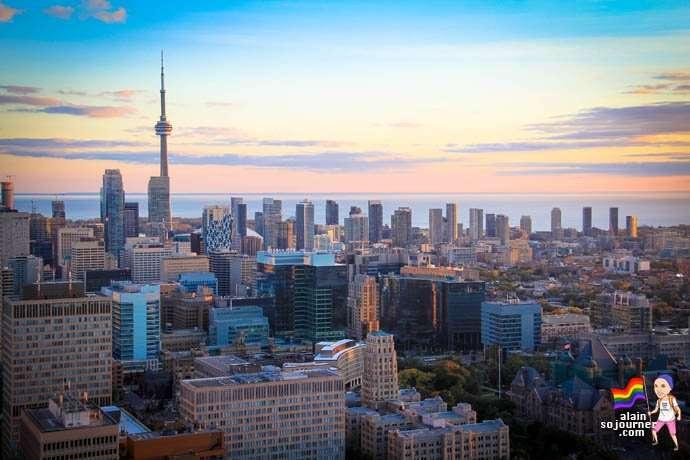 Panorama Lounge Toronto Skyline