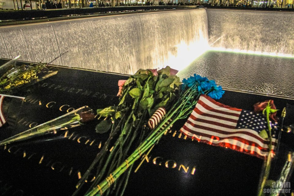 911 Site Memorial in New York.
