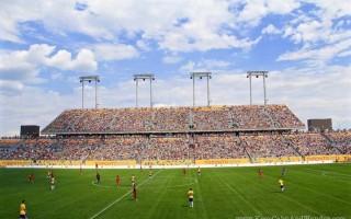 Brazil and Panama Soccer Match at PanAm Games / Toronto 2015.