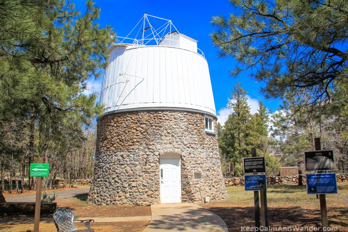 Pluto was discovered at Lowell Observatory in Flagstaff, Arizona.