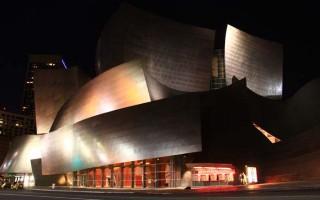 Walt Disney Concert Hall is Simply Beautiful at Night!