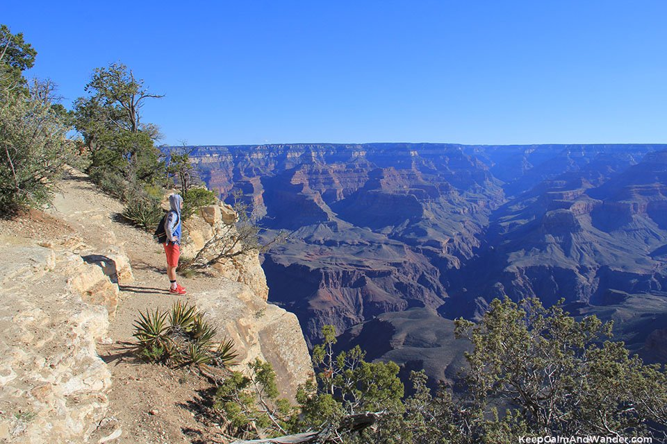Yavapai Geology Museum - Views of Overlook Points of Grand Canyon South Rim.