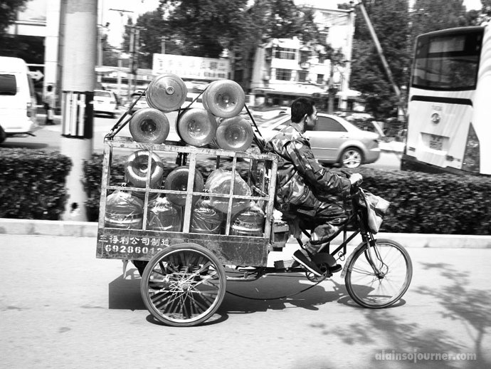 Bicycles in Beijing China