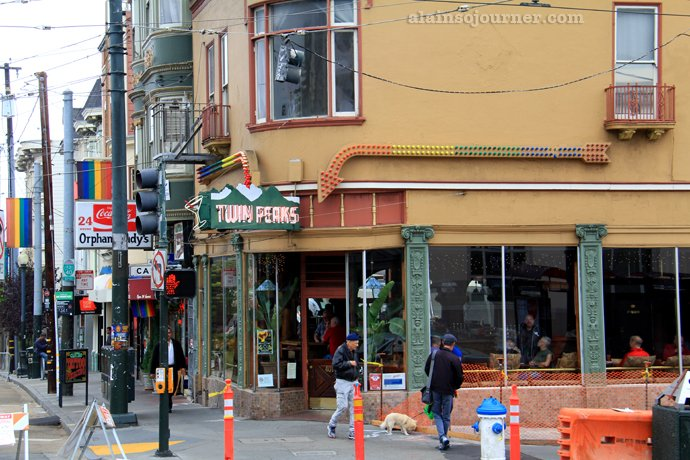 Castro Gay Village Twin Peaks San Francisco California
