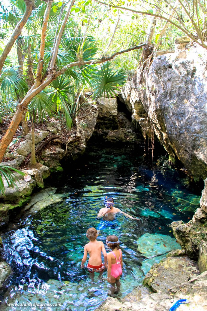 Cenote Azul Tulum Mexico Riviera Maya 1