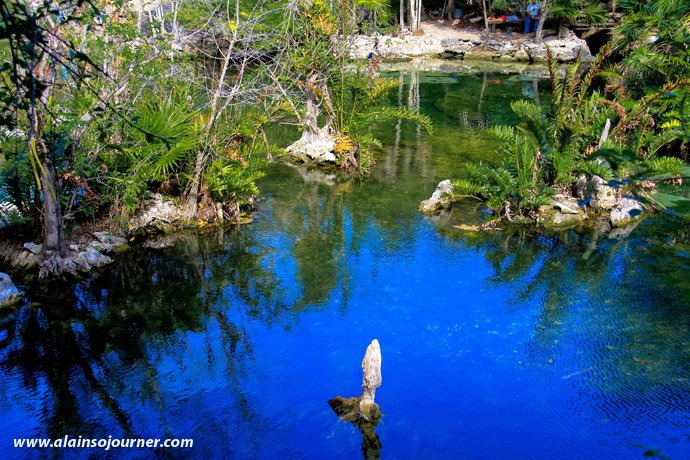 Cenote Azul Tulum Mexico Riviera Maya 14