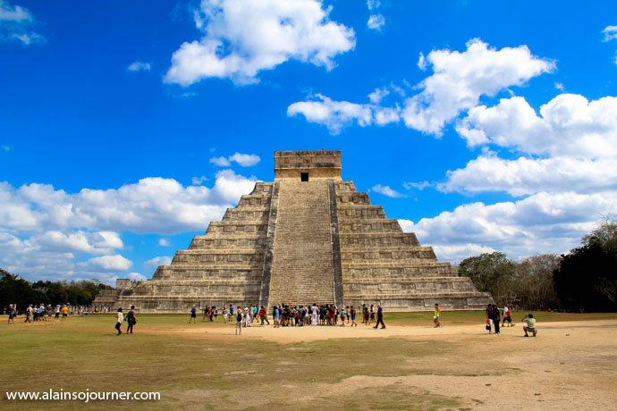 Chichen Itza Pyramid Mexico Kukulkan Cancun Tulum 1