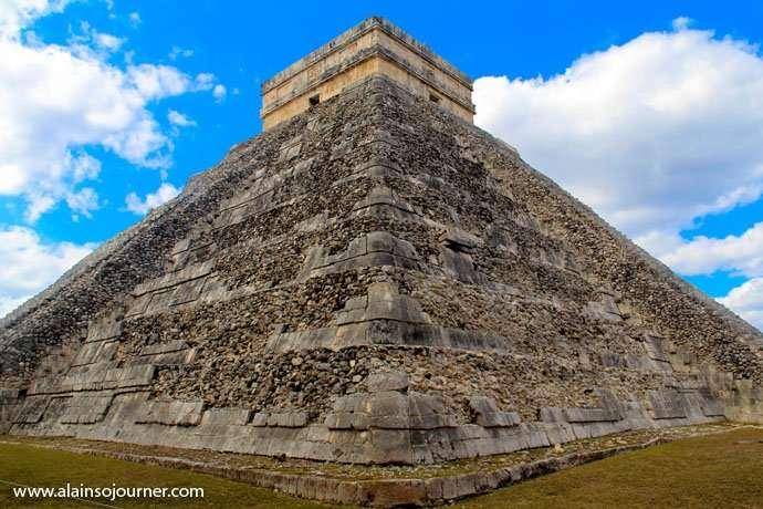Chichen Itza Pyramid Mexico Kukulkan Cancun Tulum 18
