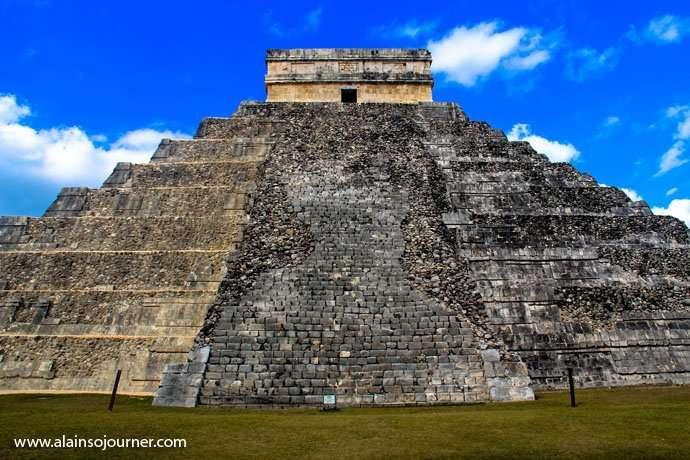 Chichen Itza Pyramid Mexico Kukulkan Cancun Tulum 20