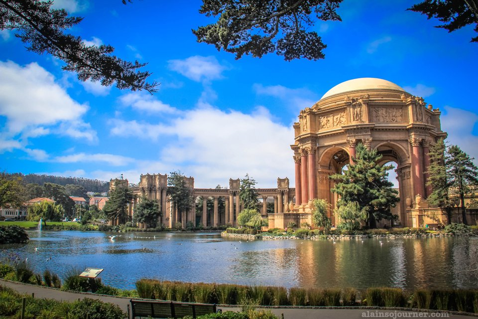 The Grandeur of the Palace of Fine Arts San Francisco