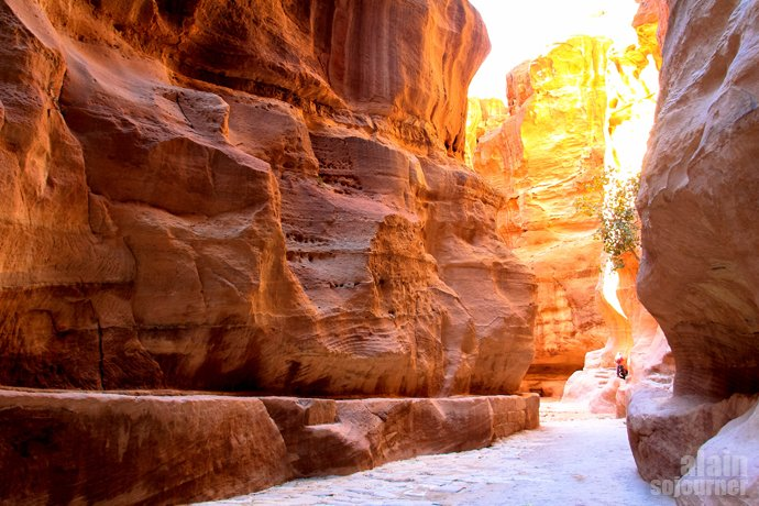The Siq - in the Footsteps of Indiana Jones