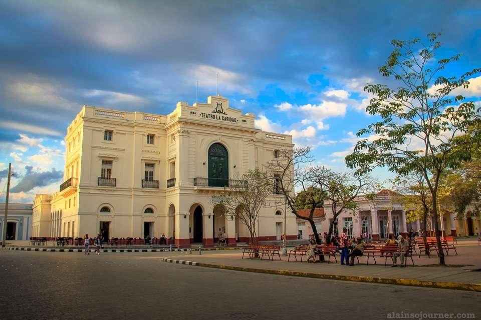 Teatro La Caridad Santa Clara Cuba