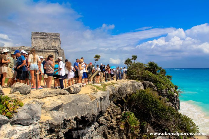 Tulum Ruins / Tulum Mayan Ruins in Mexico.