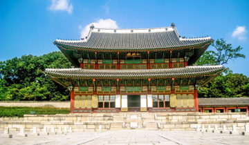 Changdeokgung Palace in Seoul is one of the five Imperial palaces of Josein Dynasty Photo