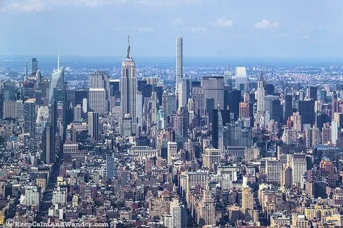 New York Skyline / One World Tower Observatory Deck
