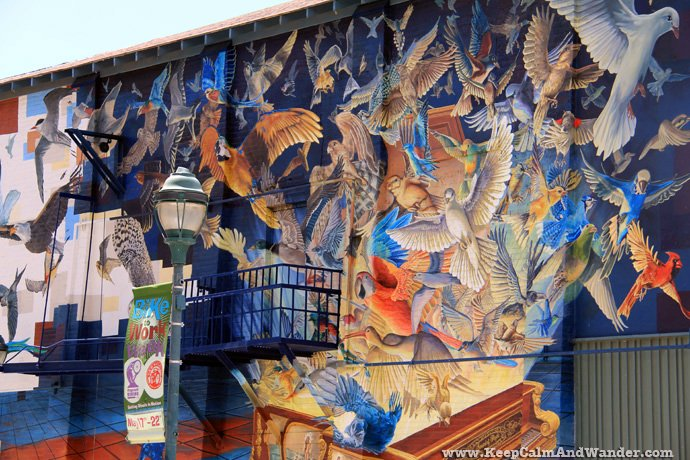 Mural in Flagstaff, Arizona.