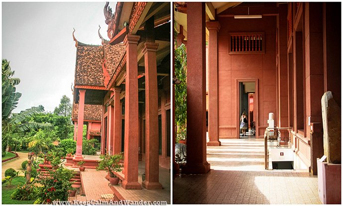 The whole museum itself is a perfect example of Khmer architecture.