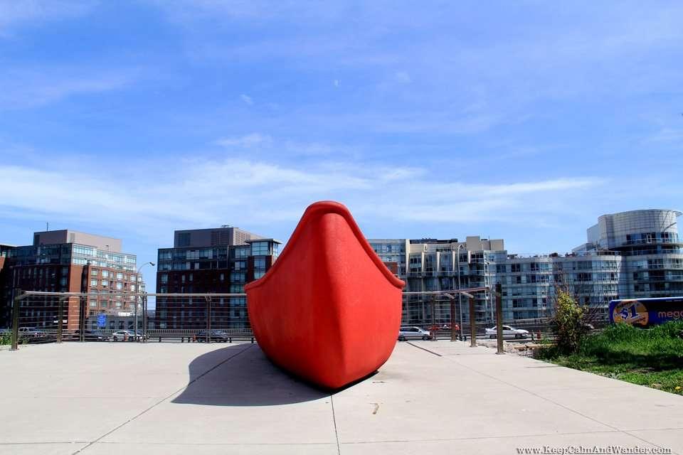 Red Canoe Landing Park in Toronto