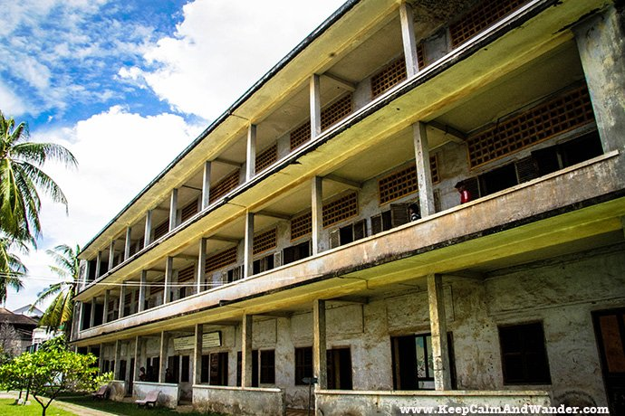 Tuol Sleng Genocide Museum in Cambodia