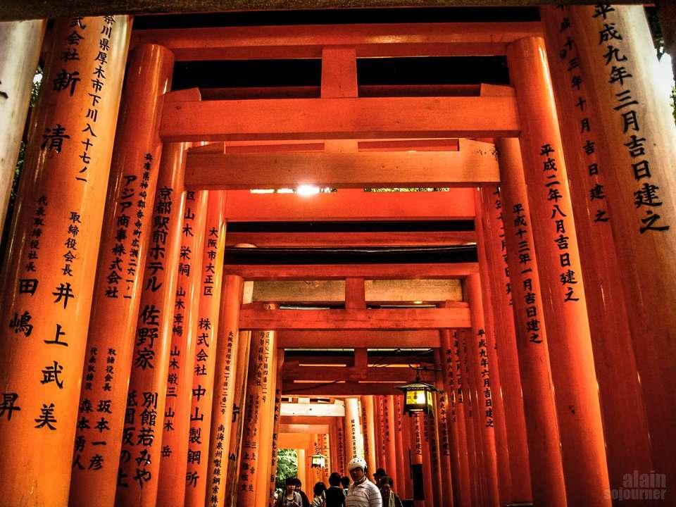 Fushimi Inari Taisha in Kyoto, Japan