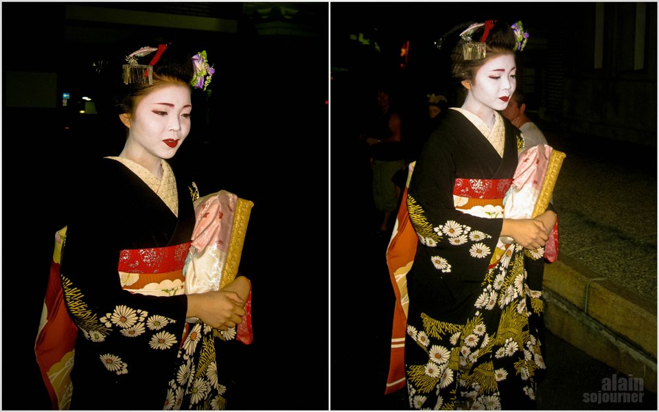 Portraits of a Geisha