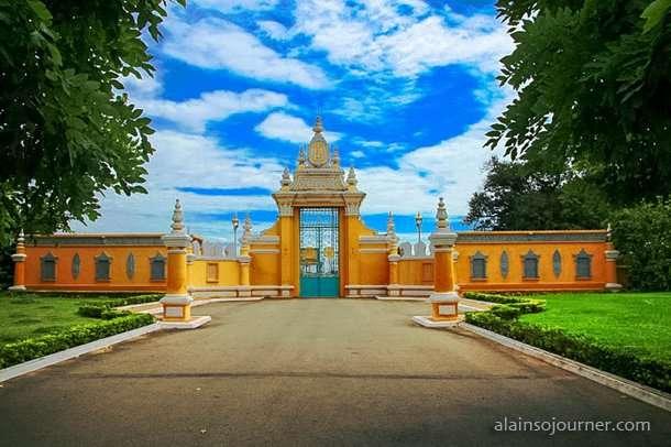 Grand Royal Palace Phnom Penh Cambodia 1