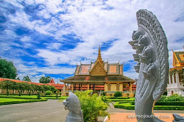 Grand Royal Palace Phnom Penh Cambodia 10