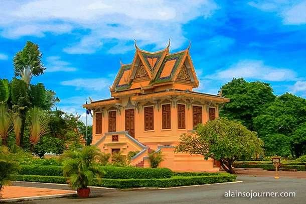 Grand Royal Palace Phnom Penh Cambodia 3