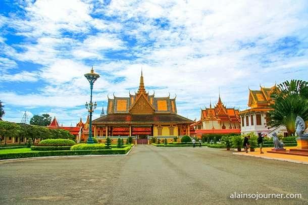 Grand Royal Palace Phnom Penh Cambodia 4