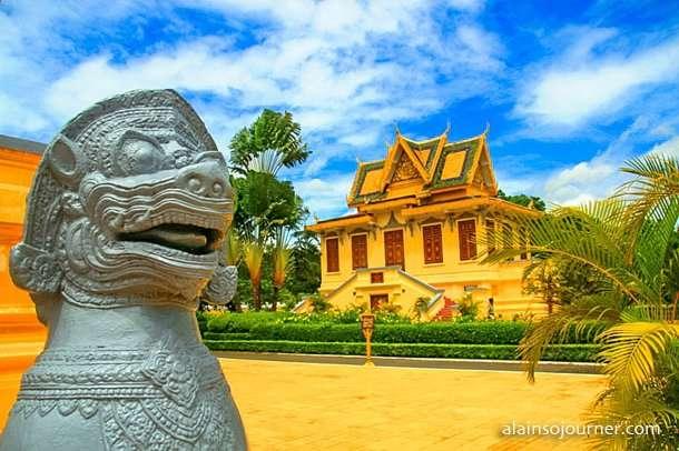 Grand Royal Palace Phnom Penh Cambodia 9