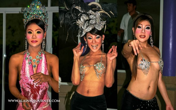 The Ladyboys of Thailand at Simon Cabaret Show in Phuket.
