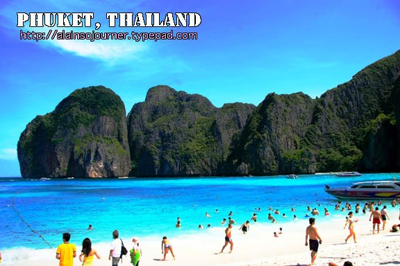 Kho Phi Phi and Other Islands in Thailand.