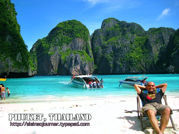 The Beach, Kho Phi Phi and Other Islands in Thailand.