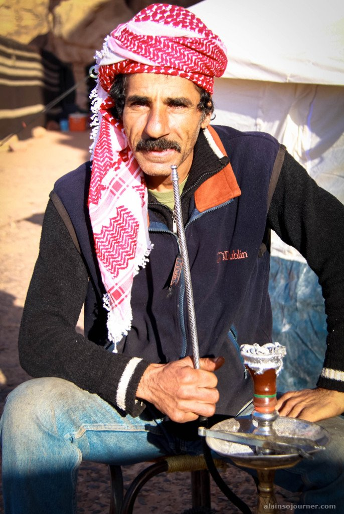 Portraits from Jordan People Bedouin in Wadi Rum