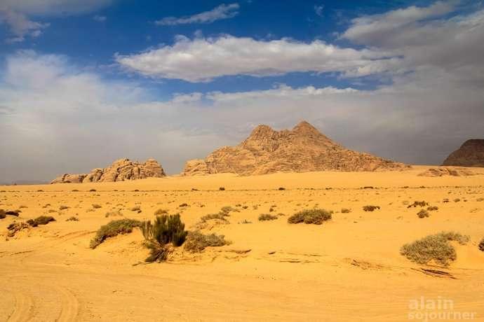 Wadi Rum Jordan T.E. Lawrence of Arabia