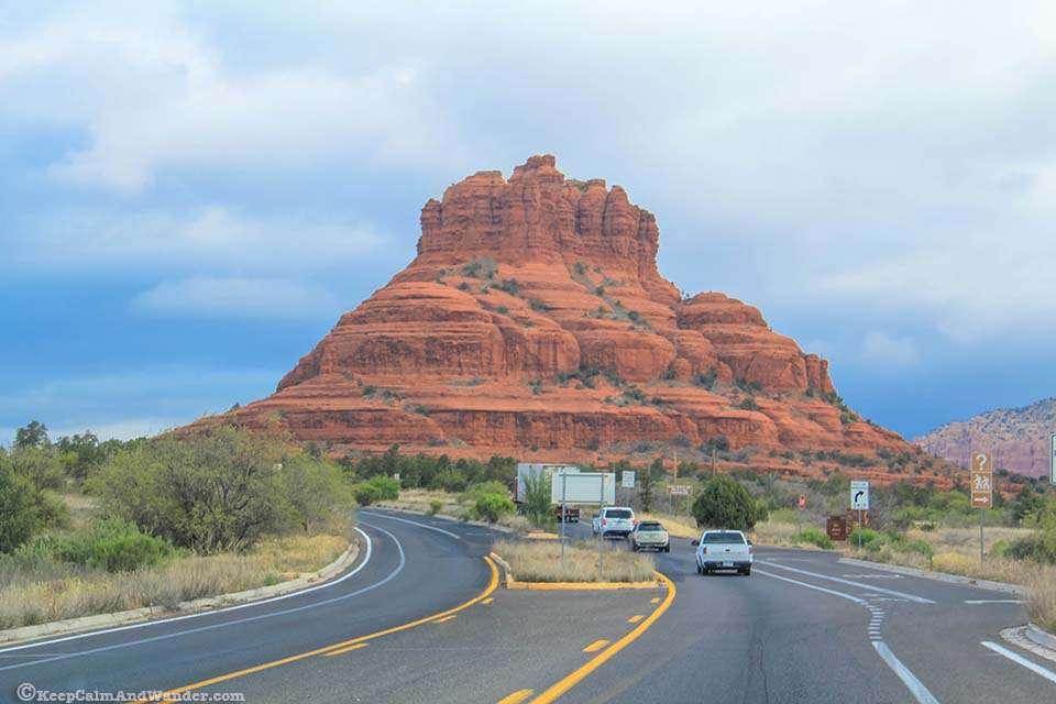 Photos - Bell Rock in Sedona, Arizona.