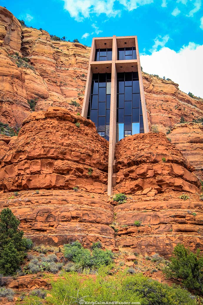 Chapel of the Holy Cross in Sedona, Arizona.