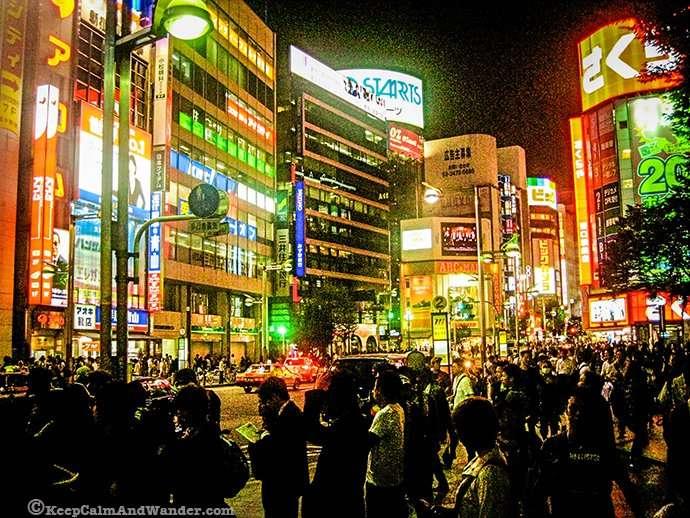 The Neons Lights of Kabukicho Shinjuku, Tokyo, Japan.