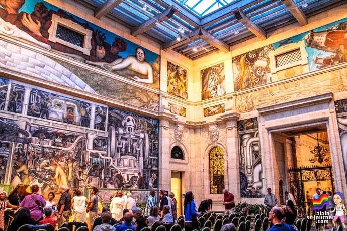 Diego Rivera Murals Detroit Institute of Arts DIA