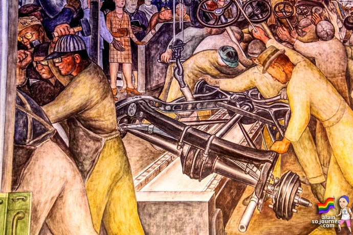 Detroit Industry Mural at Detroit Institute of Arts DIA